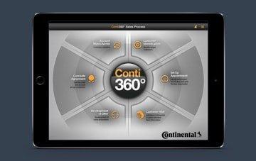 Continental Tire iOS app