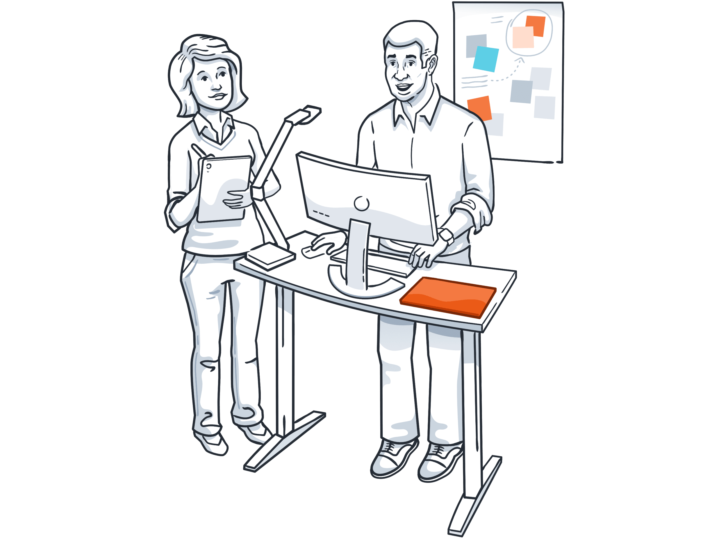 software user testing illustration