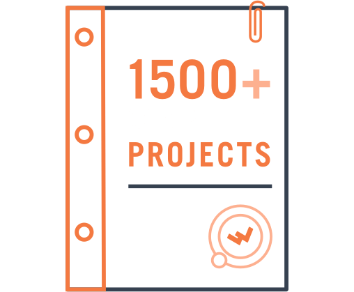 1000+ Successful Projects