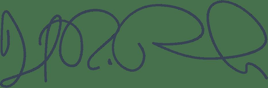 Dan Rundle signature
