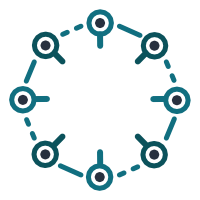 Machine learning/AI icon