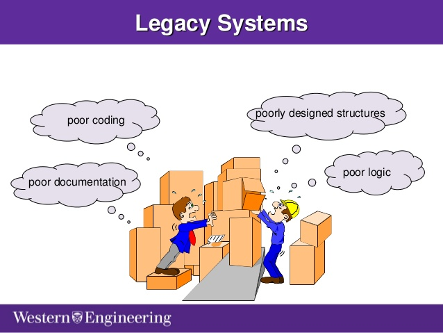 legacy system The federal government spent more than 75 percent of the total amount budgeted for information technology in a legacy system that system runs on an.
